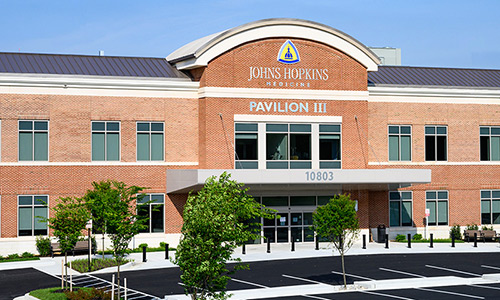 Johns Hopkins Green Spring Station Lutherville Pavilion III