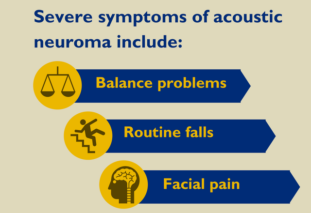 three things that determine acoustic neuroma treatment