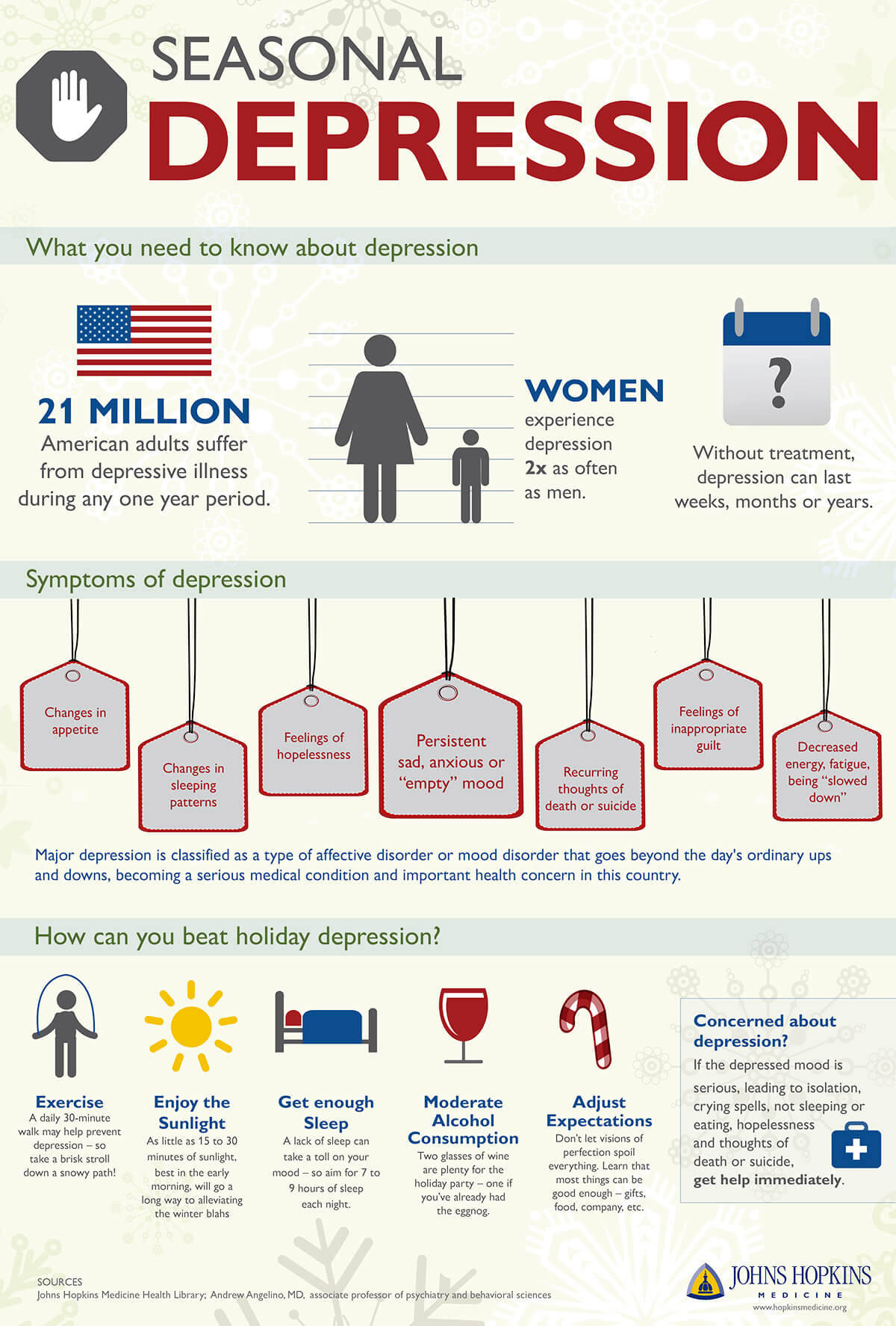 Tips for seasonal depression