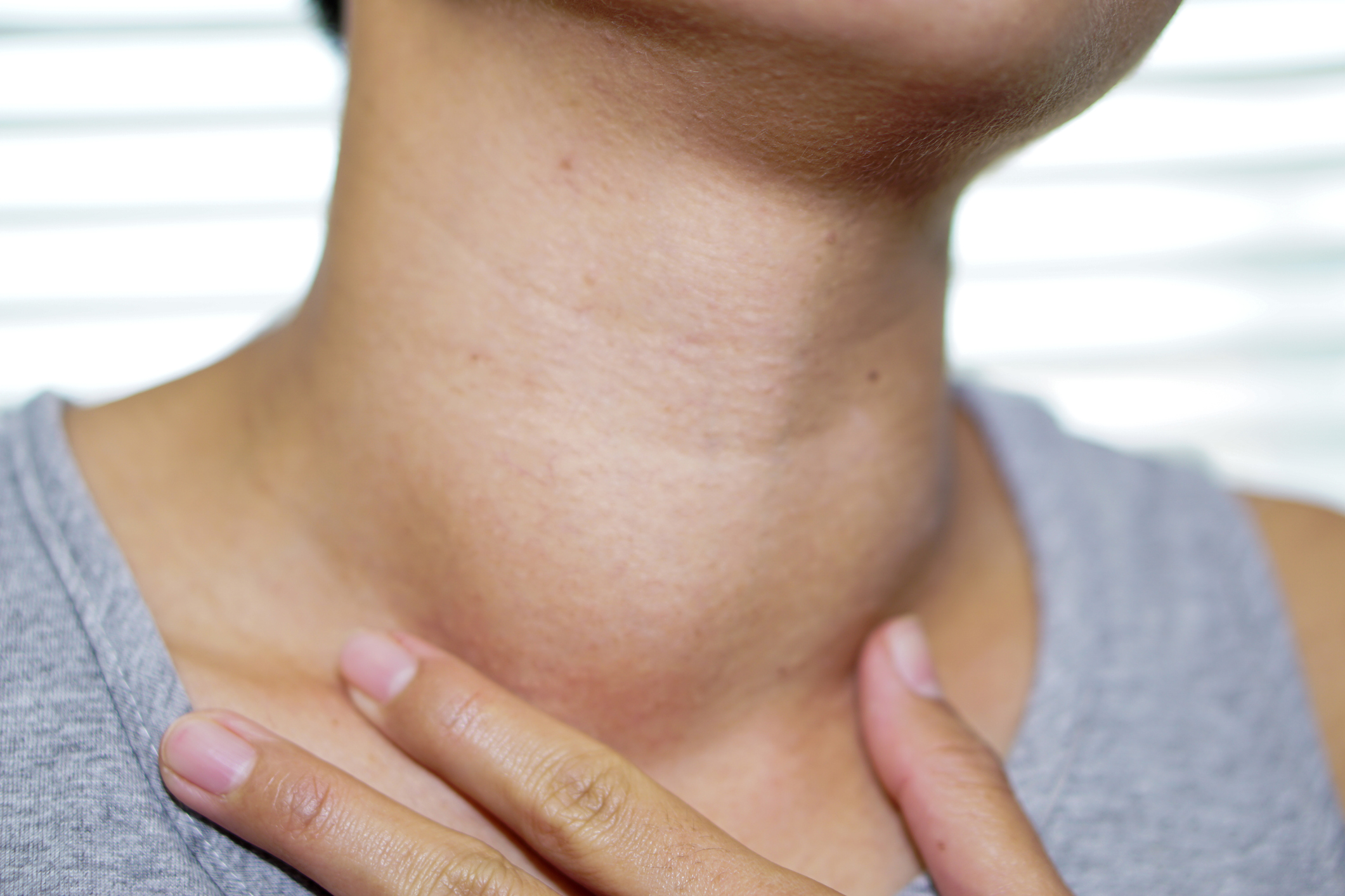 lump in a man's neck