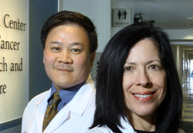 Physicians at the Skip Viragh Center for Pancreas Cancer Clinical Research and Patient Care