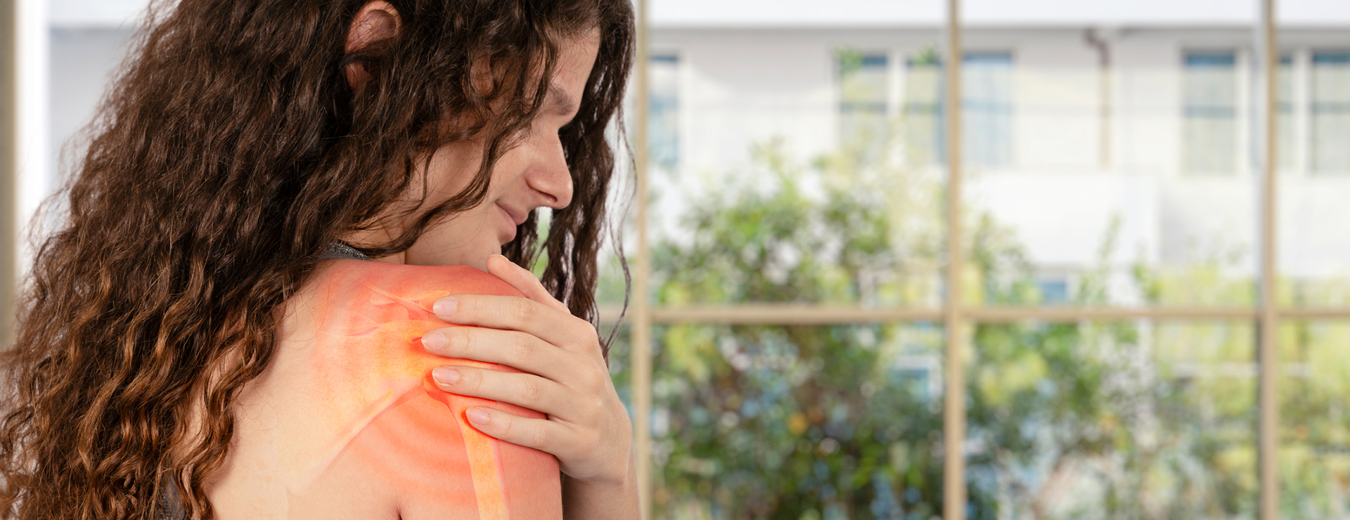 Women experiencing shoulder pain