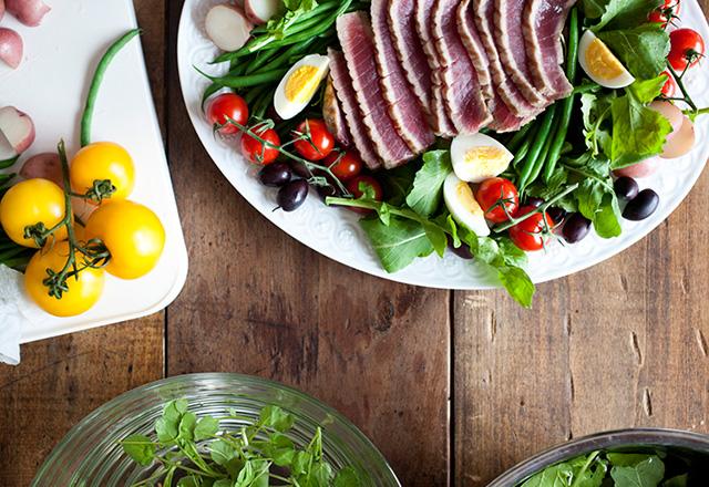 Healthy Mediterranean-style diet