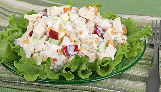 chicken salad with apples
