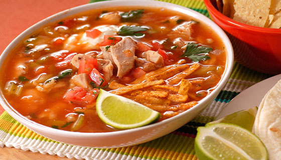 bowl of southwestern tex mex soup