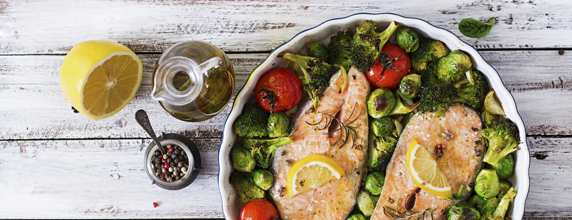 vitamin d and the heart - salmon with vegetables