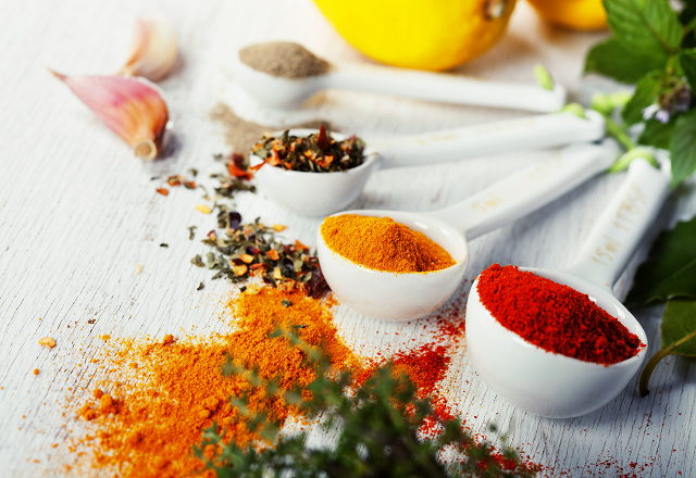 Image of different spices