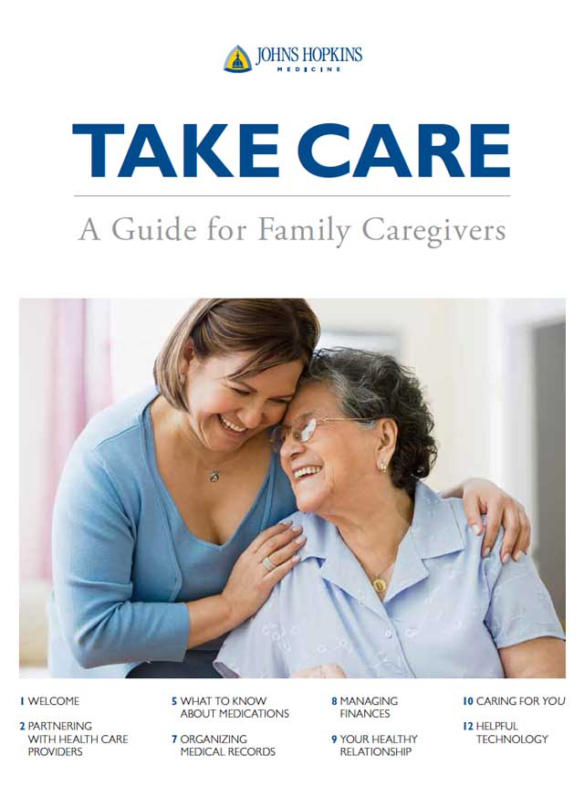 Cover of the caregivers guide
