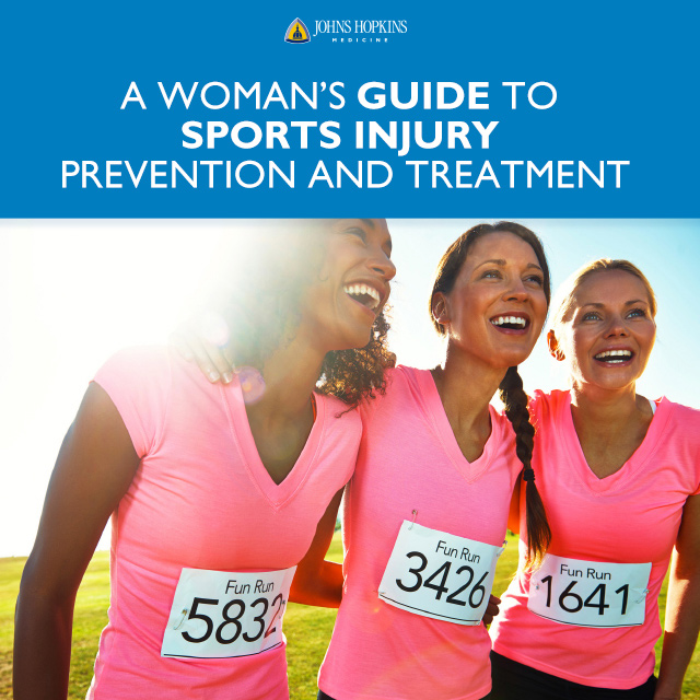 A cover of the Women's Guide to Sports Injuries ebook