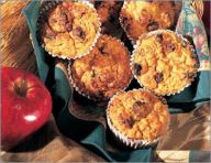 Carrot-oatmeal muffins