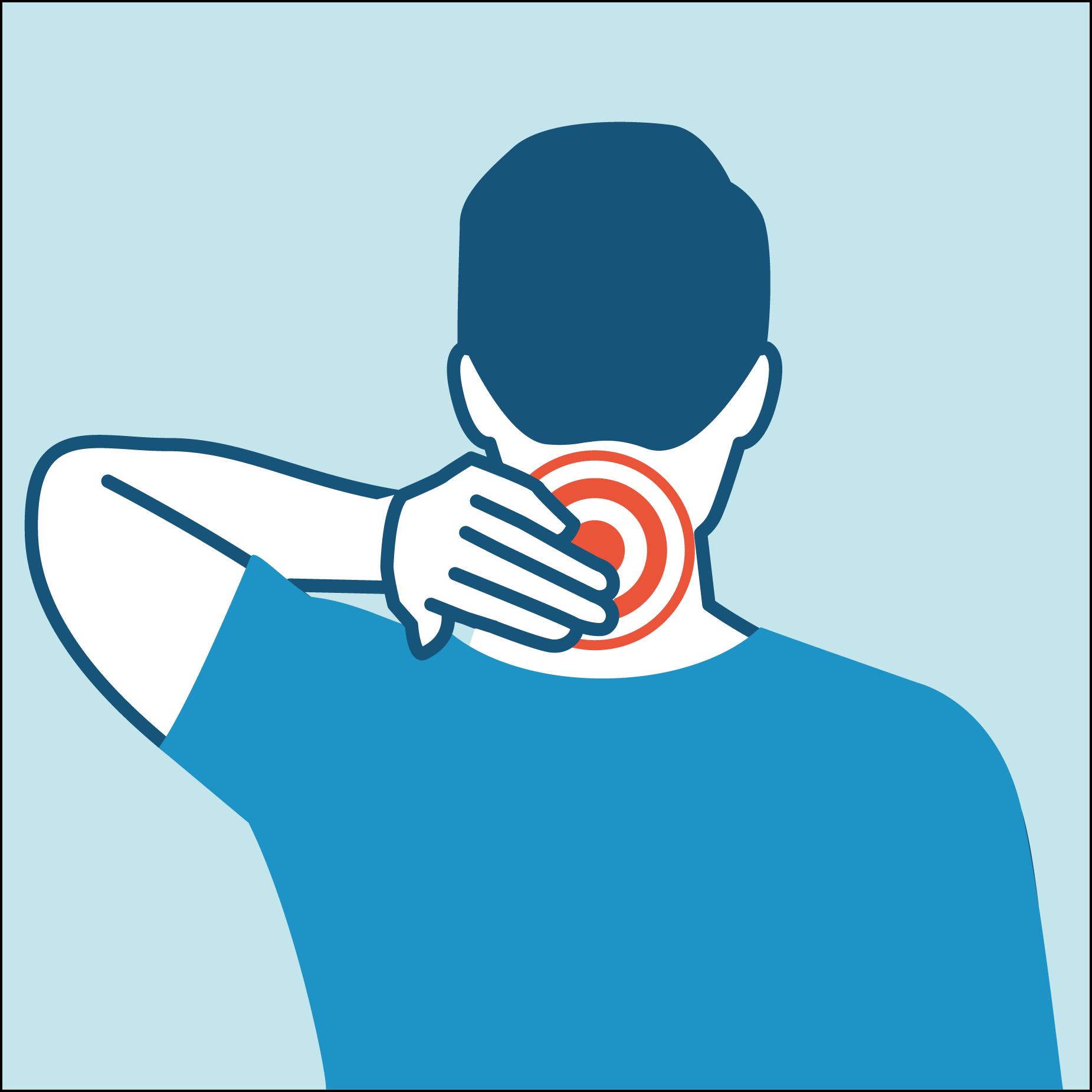 neck ache icon