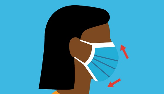 How to Properly Wear a Face Mask: Infographic | Johns Hopkins Medicine