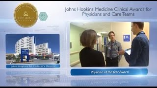 2016 Physician of the Year  Juan Dumois MD Johns Hopkins All Childrens Hospital