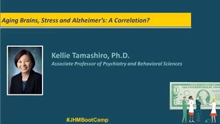 Aging Brains Stress and Alzheimers A Correlation  Kellie Tamashiro PhD