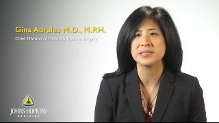Dr Gina Adrales  Minimally Invasive Surgeon