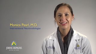 Dr Monica Pearl  Interventional Neuroradiology