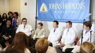 Johns Hopkins Double Arm Transplant Press Conference  January 29 2013