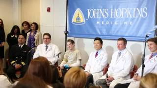 Johns Hopkins Double Arm Transplant Press Conference  Media QA