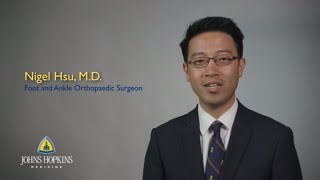 Nigel Hsu MD  Johns Hopkins Orthopaedic Foot and Ankle Surgeon