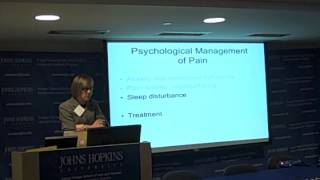 Psychological Management of Pain Part III
