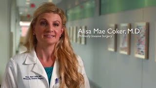 Robotic Surgery  FAQ with Dr Alisa Coker