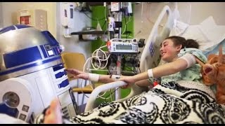 Star Wars Brings Joy to Johns Hopkins Childrens Center