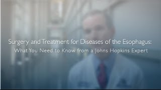 Surgery and Treatment for Diseases of the Esophagus  Dr Richard Battafarano QA