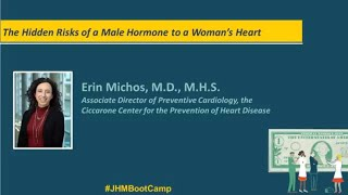 The Hidden Risks of A Male Hormone to a Womans Heart  Erin Michos MD MHS