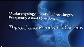 Thyroid and Parathyroid Conditions FAQs  Johns Hopkins Medicine