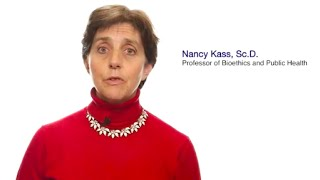 TomorrowsDiscoveries Defining Ethics for Public Health  Dr Nancy Kass