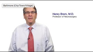 TomorrowsDiscoveries Innovative Strategies for Treating Brain TumorsDr Henry Brem