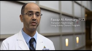 What Kidney Donors Need to Know Before During and After Donation  QA with Dr Fawaz Al Ammary