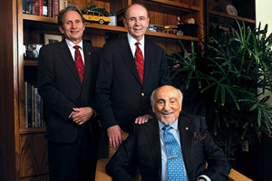 Portrait of members of the Patrick C. Walsh Prostate Cancer Research Fund