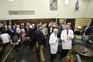 academy members during a reception