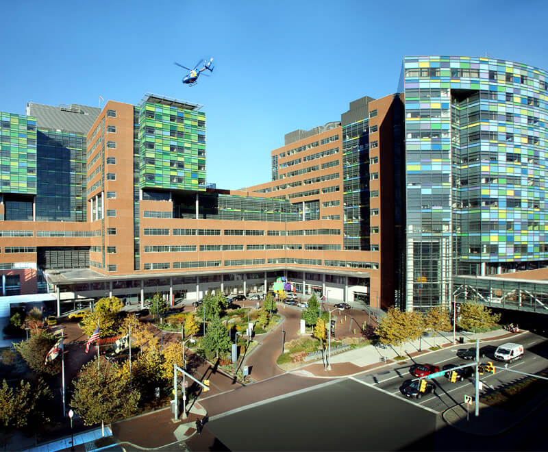 The Johns Hopkins East Baltimore campus.