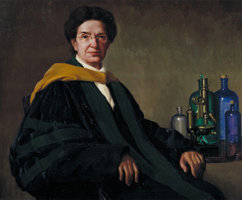 Painting of Florence Sabin