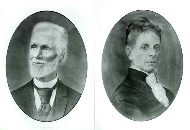 Portraits of Mr. and Mrs. Sibley