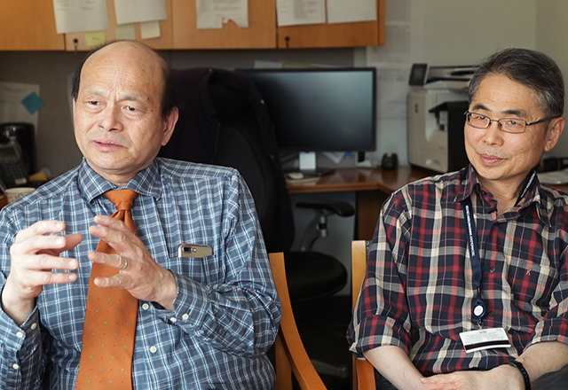 Drs. Wu and Hung