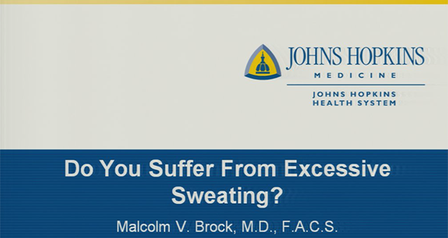 hyperhidrosis excessive sweating - do you suffer from excessive sweating?