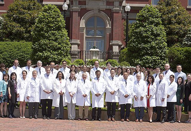 vascular medicine - group photo of Johns Hopkins nephrology team