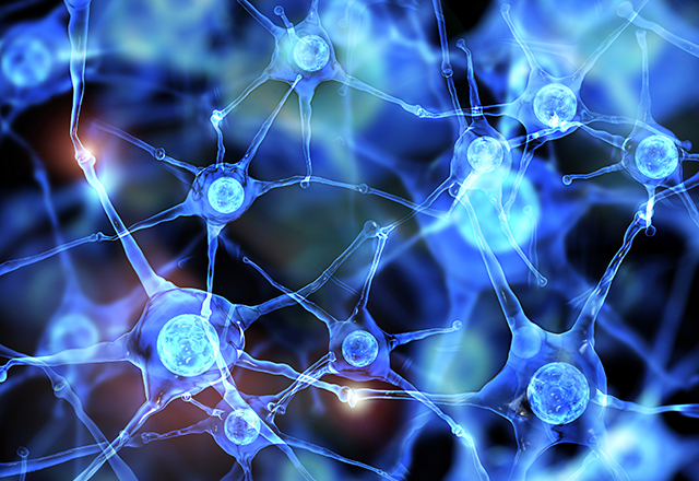 vascular medicine - abstract image of neurons