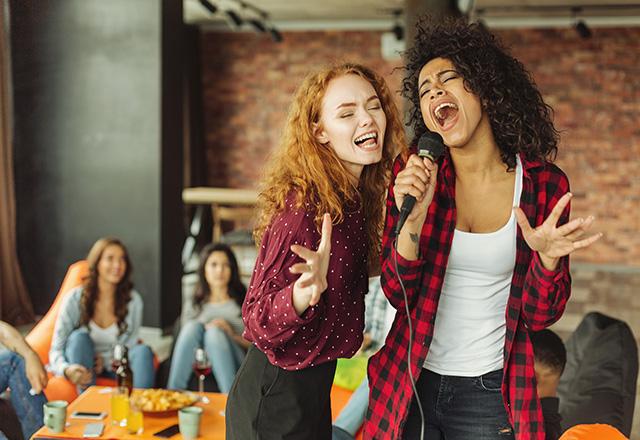 ladies singing