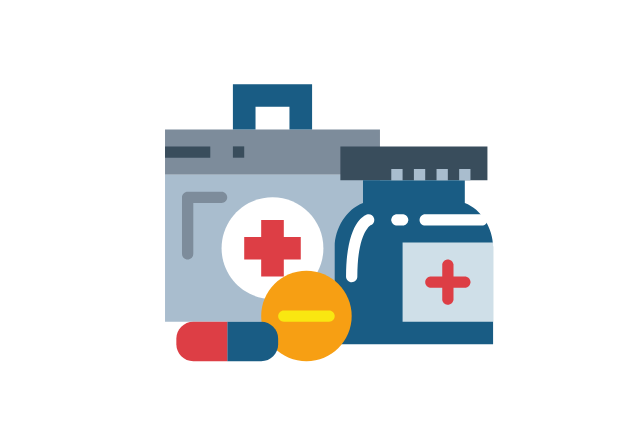 treatment kit icon