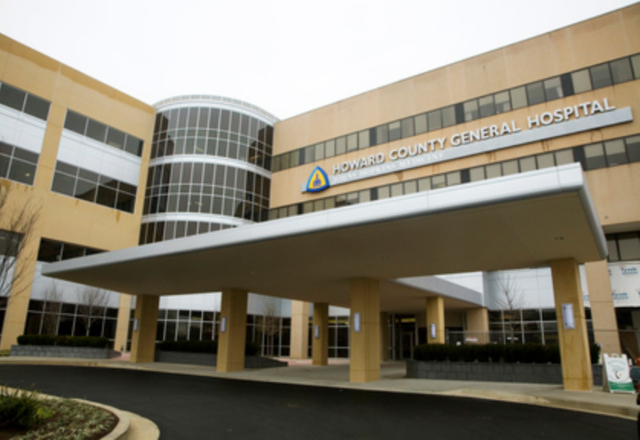 Howard County General Hospital building
