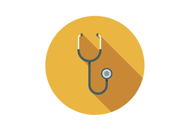 aortic disease - stethoscope icon