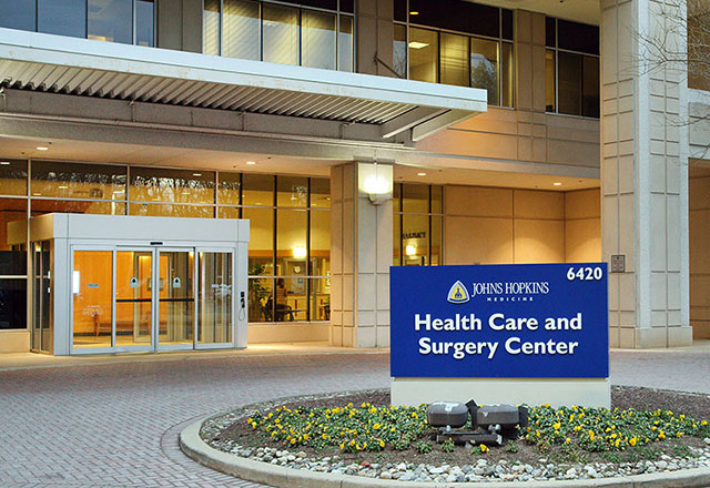 adult congenital heart disease achd - image of The Johns Hopkins Health Care and Surgery Center in Bethesda exterior