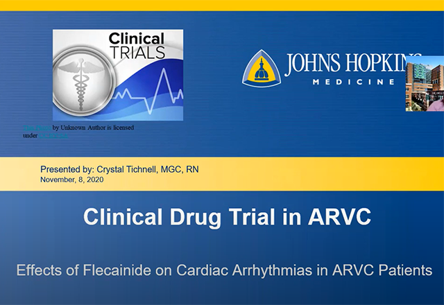 arvdc - clinical drug trial webinar discussion