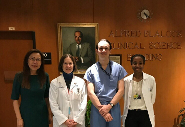 cardiac surgery research - group picture