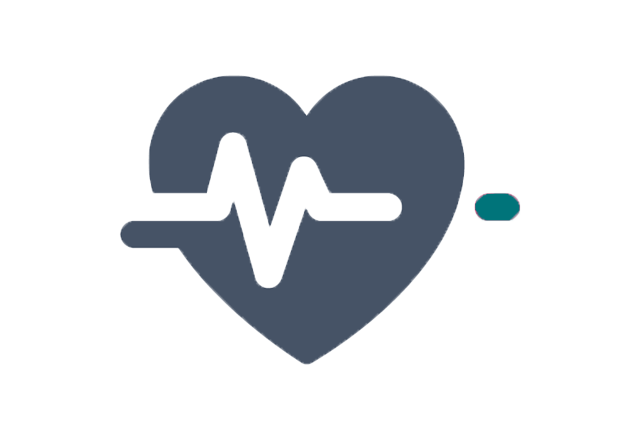 heart beat icon graphic