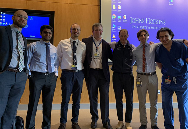 cardiology fellowship - group of researchers
